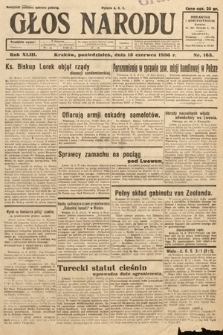 Głos Narodu. 1936, nr163