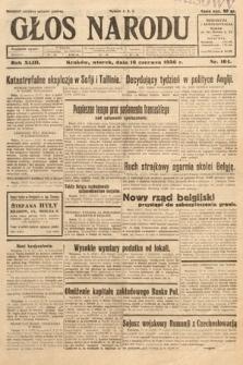 Głos Narodu. 1936, nr164