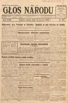 Głos Narodu. 1936, nr167