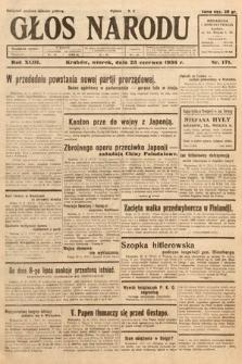 Głos Narodu. 1936, nr171