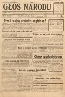 Głos Narodu. 1936, nr172