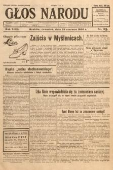 Głos Narodu. 1936, nr173