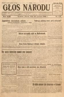 Głos Narodu. 1936, nr174