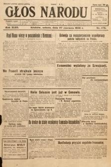 Głos Narodu. 1936, nr175