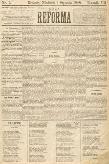Nowa Reforma. 1888, nr1