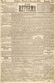 Nowa Reforma. 1888, nr2