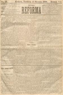 Nowa Reforma. 1888, nr12