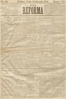 Nowa Reforma. 1888, nr20