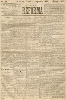 Nowa Reforma. 1888, nr22
