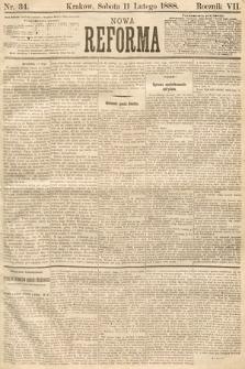 Nowa Reforma. 1888, nr34
