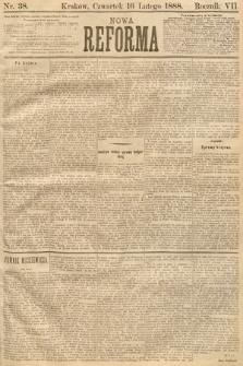 Nowa Reforma. 1888, nr38