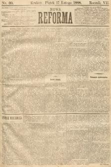 Nowa Reforma. 1888, nr39