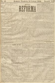 Nowa Reforma. 1888, nr41