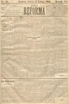 Nowa Reforma. 1888, nr46
