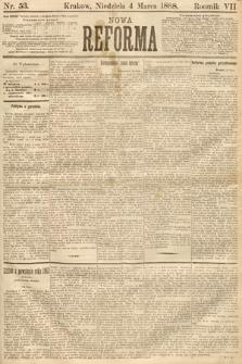 Nowa Reforma. 1888, nr53