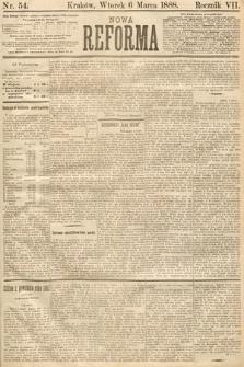 Nowa Reforma. 1888, nr54