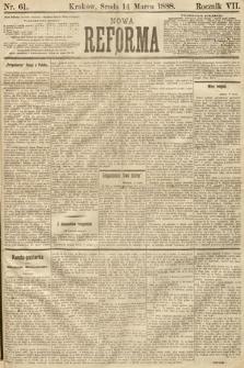 Nowa Reforma. 1888, nr61
