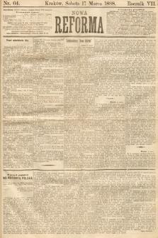 Nowa Reforma. 1888, nr64