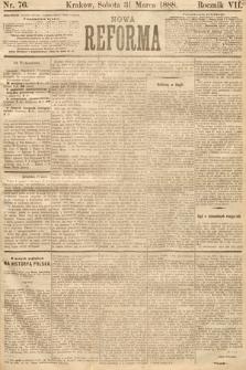Nowa Reforma. 1888, nr76