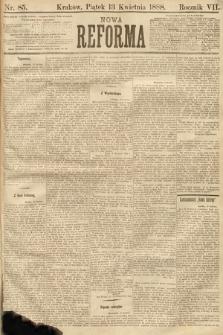 Nowa Reforma. 1888, nr85