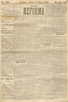 Nowa Reforma. 1888, nr108