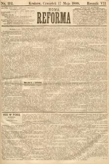 Nowa Reforma. 1888, nr112