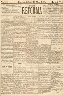 Nowa Reforma. 1888, nr114