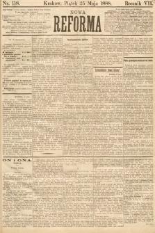 Nowa Reforma. 1888, nr118