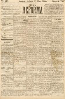 Nowa Reforma. 1888, nr119