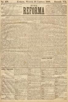 Nowa Reforma. 1888, nr138