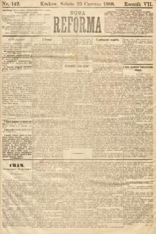 Nowa Reforma. 1888, nr142
