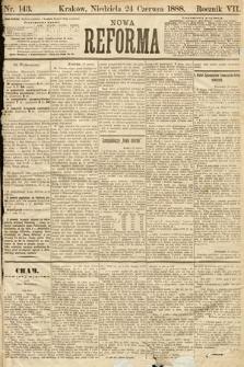 Nowa Reforma. 1888, nr143