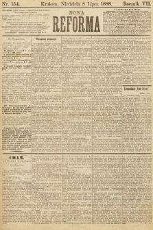 Nowa Reforma. 1888, nr154