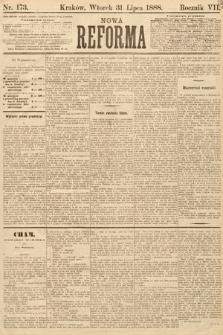 Nowa Reforma. 1888, nr173