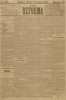 Nowa Reforma. 1888, nr176
