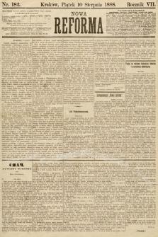 Nowa Reforma. 1888, nr182