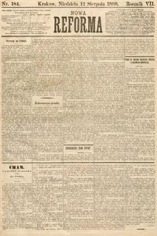 Nowa Reforma. 1888, nr184