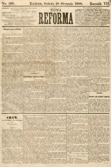 Nowa Reforma. 1888, nr188
