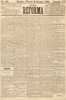 Nowa Reforma. 1888, nr190