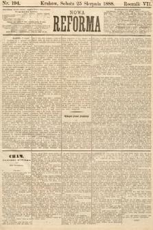 Nowa Reforma. 1888, nr194