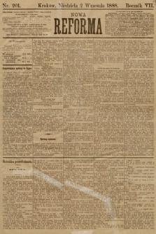 Nowa Reforma. 1888, nr201