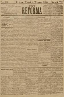 Nowa Reforma. 1888, nr202