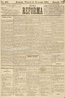 Nowa Reforma. 1888, nr207