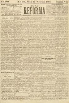 Nowa Reforma. 1888, nr208