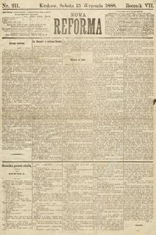 Nowa Reforma. 1888, nr211