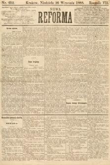 Nowa Reforma. 1888, nr212