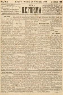 Nowa Reforma. 1888, nr213