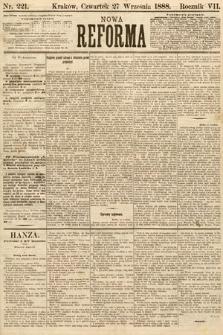 Nowa Reforma. 1888, nr221