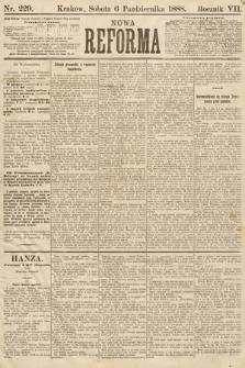 Nowa Reforma. 1888, nr229