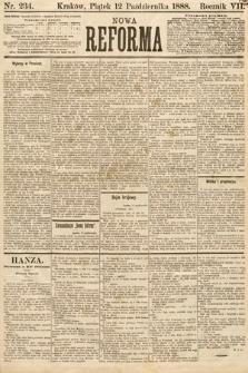 Nowa Reforma. 1888, nr234